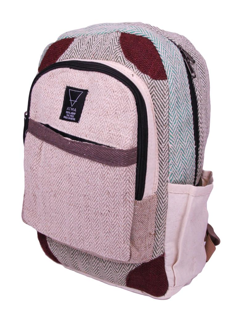 vegan backpack hemp