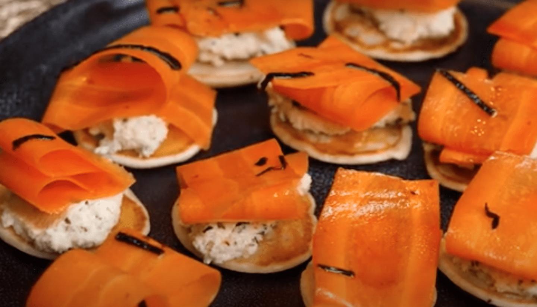 vegan salmon bites