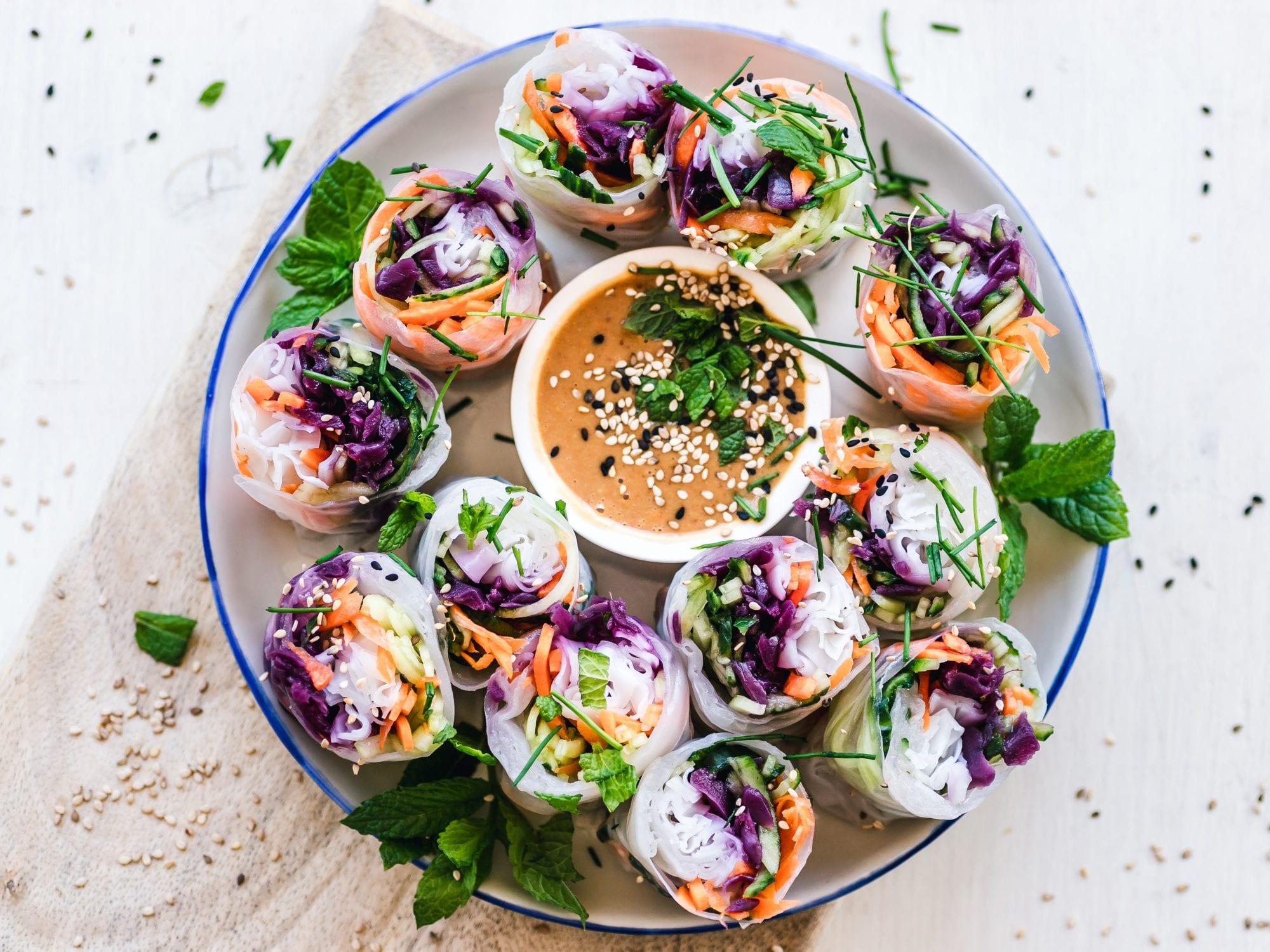 easy to make vegan snacks